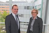 ABAS Software AG: Werner Strub, ABAS Projektierung Holding GmbH: Ursula Bracke
