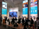 HannoverMesse: Messestand der ABAS Software AG in Halle 7, Stand A25