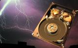 Datenverluste durch Gewitter erfordern prof. Datenrettung
