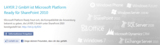 SharePoint Erweiterungen von Layer2 wurden als Microsoft Platform Ready zertifiziert.