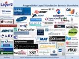 Microsoft SharePoint Referenzen & Kunden - Layer 2 GmbH
