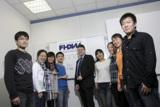 Prof. Dr. Stefan Nieland, Leiter der FHDW in Paderborn, begrüßt die ersten chinesischen Studenten.