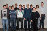 Schülerstudenten der Berufskollegs Herford & Beckum haben an der FHDW ein Schnupperstudium begonnen