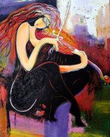Art Furore Galerie: Musizieren II, 550 x 650 mm, 129,00 €