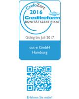 Crefozert für die cut-e GmbH