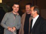 v.l.n.r Bester TBW-Absolvent Markus Könn mit Helmut Delzepich und Joachim Martin