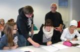 Unterricht in der Dolmetscherschule Köln