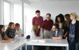 Im Unterricht an der Übersetzer- und Dolmetscherschule Köln