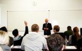 Masterstudenten an der Rheinischen Fachhochschule Köln