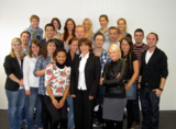 Das Organisationsteam des Medienkongresses 2011 der Rheinischen Fachhochschule Köln