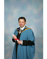 Uli Dahler MBA-Graduierungsfeier in England