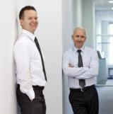 Dr. Achim Preuss und Andreas Lohff, Geschäftsführer der cut-e GmbH (v.l.)
