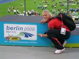 Jennifer Oeser bei der Leichtathletik-WM 2009 in Berlin