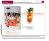 Per E-Learning lernen angehende Barkeeper bei Accor ihr Handwerkszeug kennen.