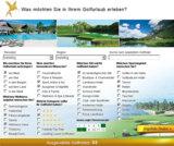 Die neue Suchmaske bei www.fairplay-golfreisen.de