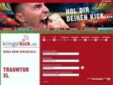 Im Online-Shop klingelkick.de kaufen Fußballfans Spielszenen