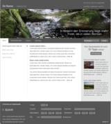 Beispielhafte Startseite Gedenkseitenportal