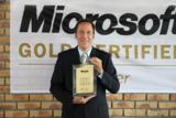 Marcus Gerling freut sich über die Auszeichnung