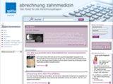 Das neue Portal www.abrechnung-zahnmedizin.de bietet alles Wissenswerte rund um die Abrechnung