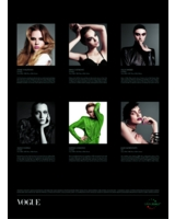 Exklusiv durchs ganze Jahr: Mit dem Vogue Imagekalender 2010 von Mohn Media
