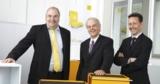 Christoph von Bergen, Christoph Biedermann, Dr. Martin Zwyssig Copyright Sputnik Engineering AG