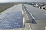Photovoltaikanlage in Camisano, nahe Venedig. Copyright: Elpo GmbH & Sputnik Engineering AG