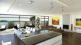 Die Penthäuser verfügen über eine luxuriöse Ausstattung und eine großzügige Dachterrasse.