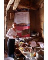 Nina Koblenz vom Gut Schlenzig setzt schon lange auf die Qualität heimischer Produkte.
