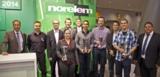 Verleihung des Engineering Newcomer Awards 2014 auf der Motek