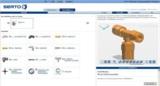 Die neue Version des 3D CAD Downloadportals PARTcommunity der SERTO AG.