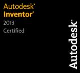 CADENAS PARTsolutions ist für die Version 2013 des CAD Systems Autodesk Inventor zertifiziert worden