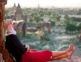Tourist in Bagan
