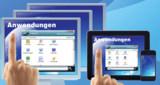 ThinPoint stellt die Anwendungen so bereit, als liefen sie direkt auf Rechner oder mobilem Gerät.