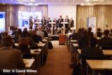 Teilnehmer der Podiumsdiskussion auf dem 16. Aachener Dienstleistungsforum