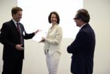 Prof. V. Stich (FIR), E. Bischoff (BCT), J. Bischoff (BCT) (Foto:©David Wilms)