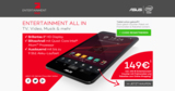 all2e erstellt Voucher-Portal zum ProSieben Entertainment Pad von ProSiebenSat.1 Digital