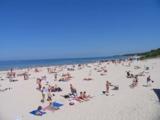 Kolberg - Strand an der Ostsee Polen