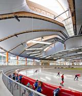 Eisschnelllaufhalle Inzell, copyright: Archimage