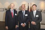 Von links nach rechts: Reza Moridi, Mo Elbestawi und Michael Bucher, Fraunhofer IAO