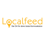 Logo Localfeed: Social Media Portal, Local Sharing Portal, Community, Bürgerforum