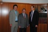 v.l. Dirk Olbrich, Friedhelm Dietermann, Thorsten Dietermann