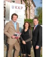 v.l. Dirk Olbrich, Sabine Flegel, Jens-Oliver Müller