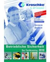 Katalog mit Produkten und Informationen rund um betriebliche Sicherheit