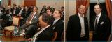 Rechts: easycash Geschäftsführer Marcus W. Mosen (links) und der Referent Andreas Pratz