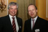 Frank Patt, Leiter Key Account & Projekt-Management der easycash und Referent Kai-Christian Claus.