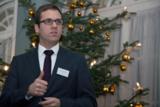 Christopher Kristes sprach zum Thema PCI DSS. © easycash GmbH