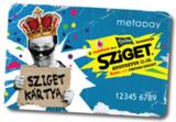 Bargeldloses Musikfest dank der Sziget-Festivalkarte