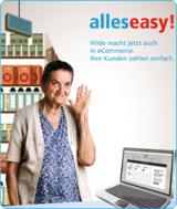 """Zusammen mit """"Hilde"""" präsentiert easycash die Vorteile der neuen ePayment-Lösung paygenic."""
