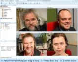 Vivicom Konferenzlösung v2c Version 5.4 (4er-Konferenzansicht)