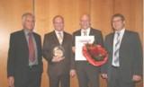 Heinz Boesl (ADITO), Martin Kuhl (Kieback&Peter), Jörg Gierth (Kieback&Peter), Peter Kobler (ADITO)